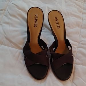 Ladies heels Unlisted size 9